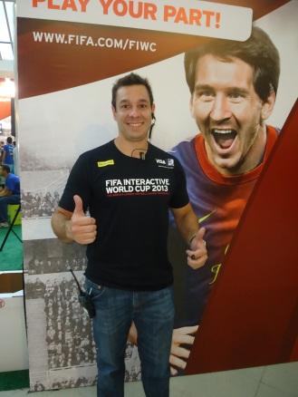 Aley Sadi, presidente do Arte Virtual Futebol Clube - Esportancia